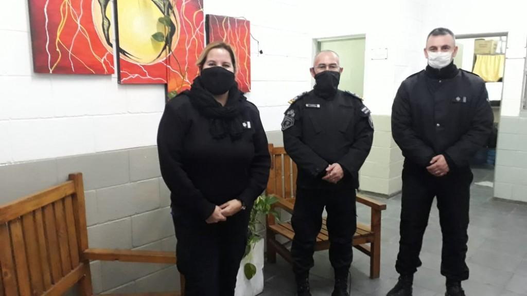 El Jefe del Complejo Penitenciario Centro Zona Sur reconoció la labor de los agentes en su día