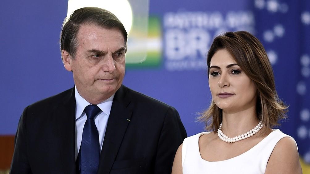La esposa de Bolsonaro tiene coronavirus