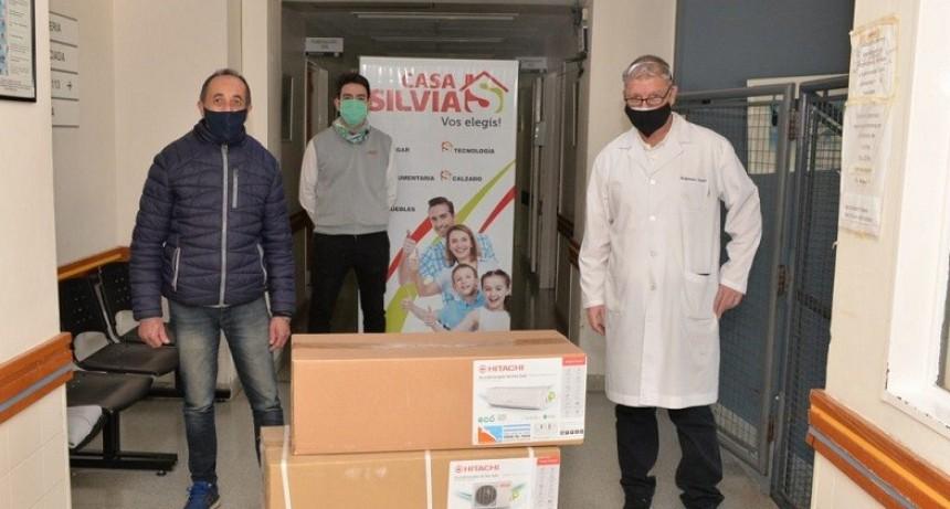 Emergencia Sanitaria: donaron un equipo de aire al Hospital Municipal «Dr. Héctor Cura»