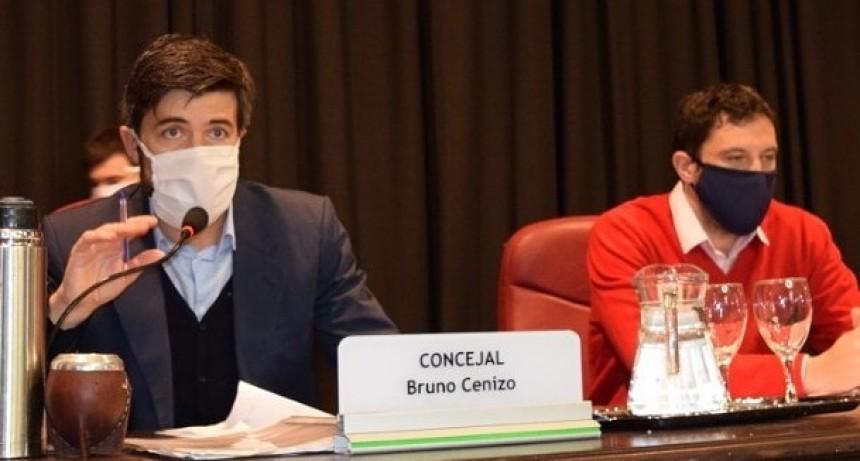 """Bruno Cenizo: """"Santellán apela a la violencia verbal como herramienta política"""""""