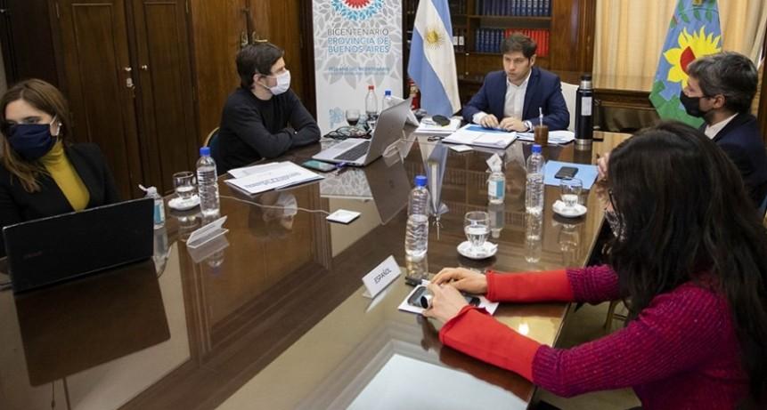 Kicillof lanzó un plan para auxiliar a pymes y comercios bonaerenses