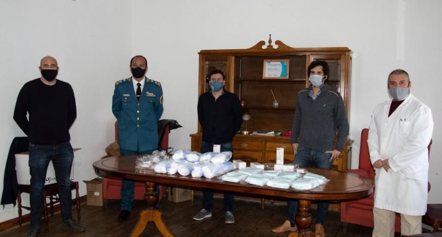 Entregaron insumos sanitarios al Complejo Penitenciario Centro Sur