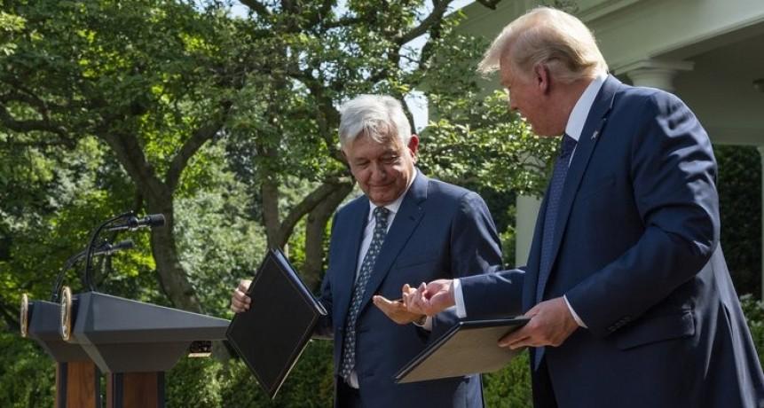 """""""Juntos por una región próspera"""": Trump y AMLO celebraron el triunfo del T-MEC en histórico encuentro"""
