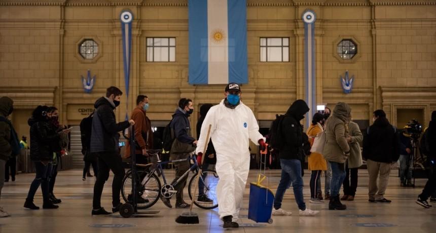 Coronavirus en la Argentina: confirmaron 54 muertes y 3.367 nuevos contagios en las últimas 24 horas