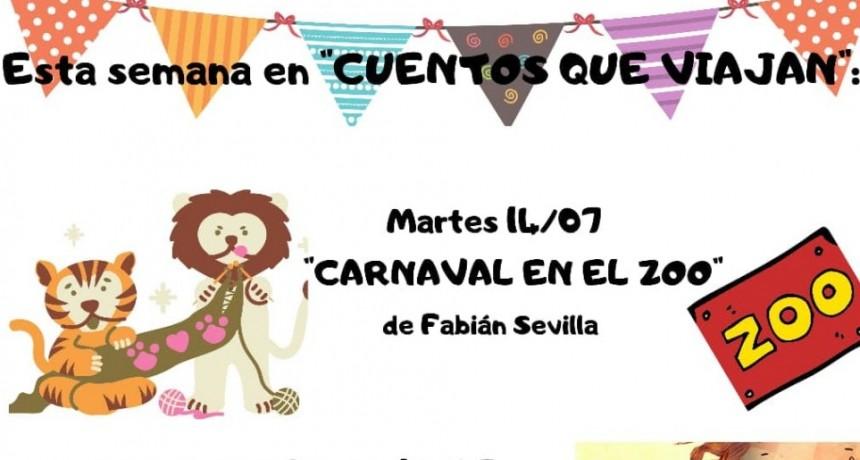 """En Cuentos que viajan: """"Carnaval en el Zoo"""""""