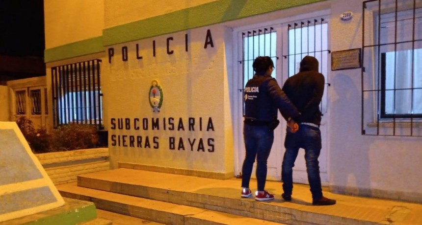 Sierras Bayas: violaban el aislamiento y llevaban un machete