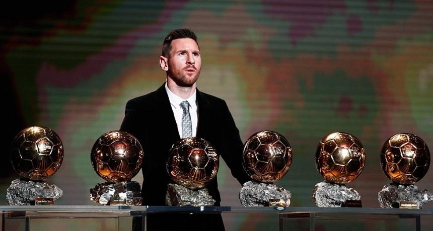 El Balón de Oro no se entregará este año y seguirá en poder de Messi
