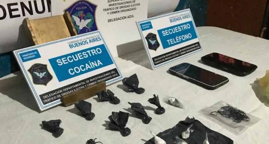 Secuestraron cocaína y detuvieron a un hombre en el Barrio Independencia
