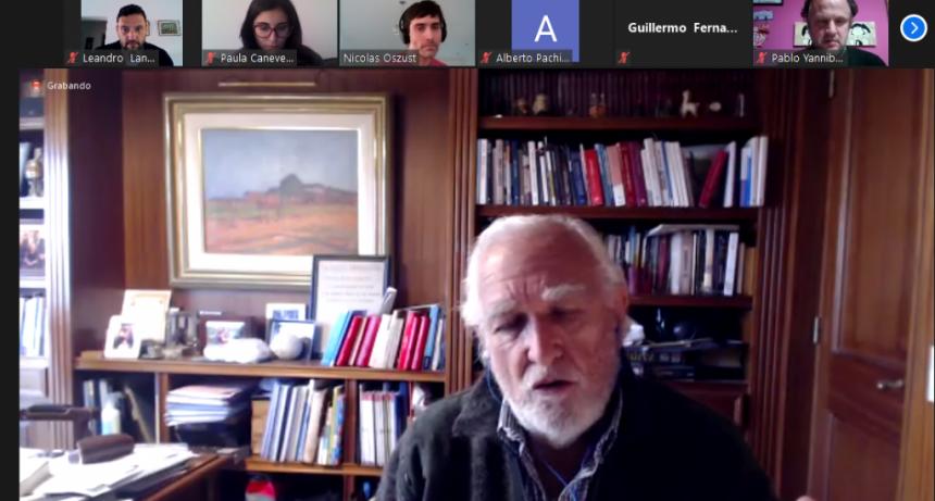 Radicales Olavarría en charla con Gil Lavedra