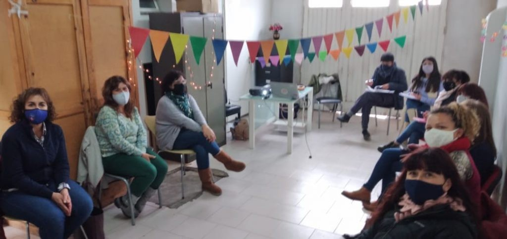 """""""Cambiando Miradas"""": comenzaron los talleres territoriales de género en Sierra Chica"""