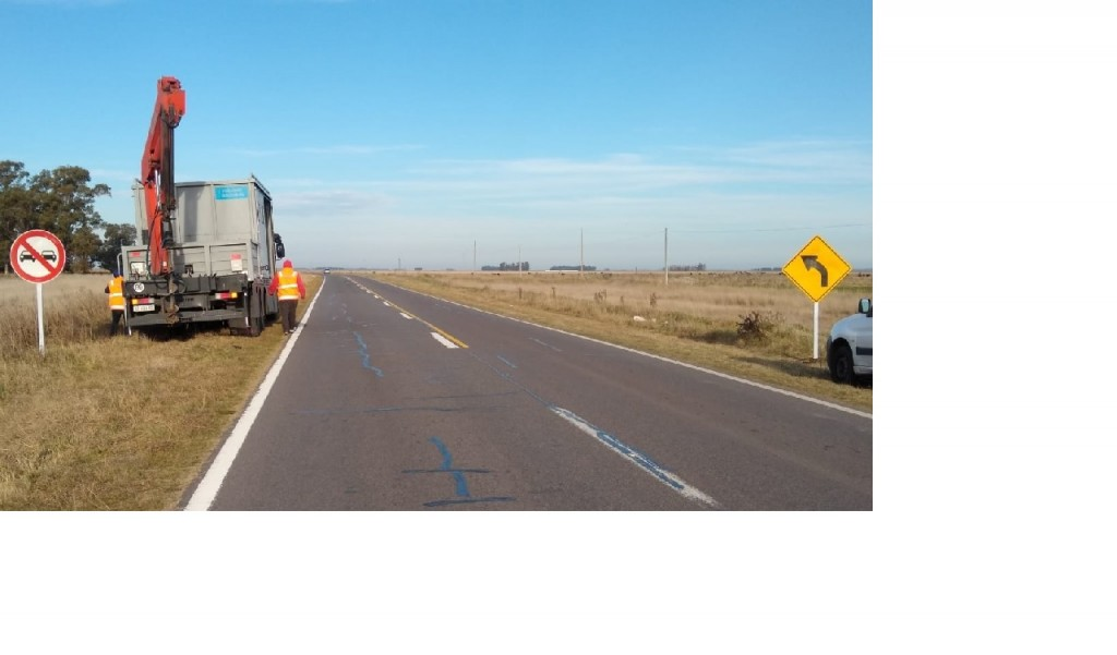 Tránsito: obras en Ruta 226