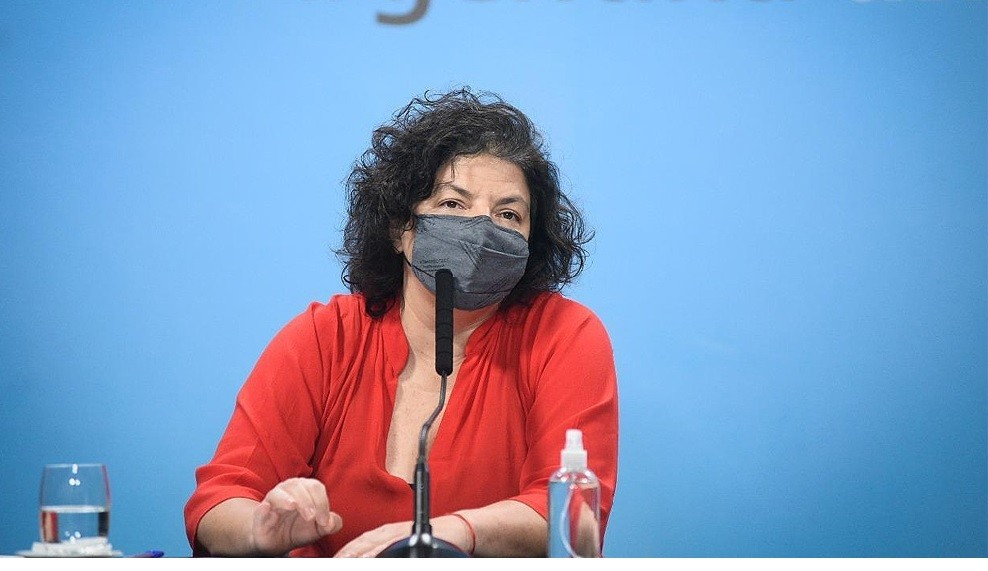Vizzotti ratificó: 'La prioridad uno del gobierno es completar los esquemas de vacunación'