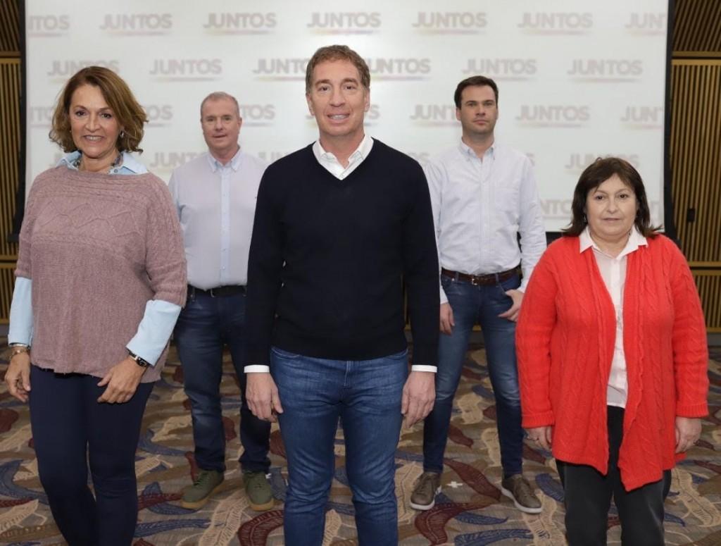 El PRO y la Coalición Cívica definieron quienes acompañan a Diego Santilli