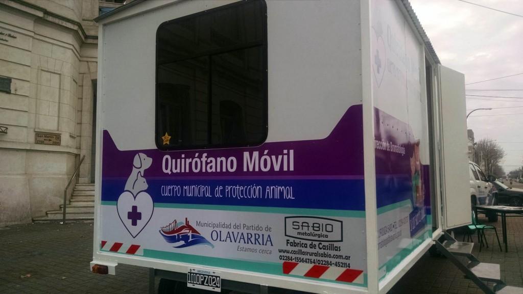 El Quirófano Veterinario Móvil continuará en Villa Floresta