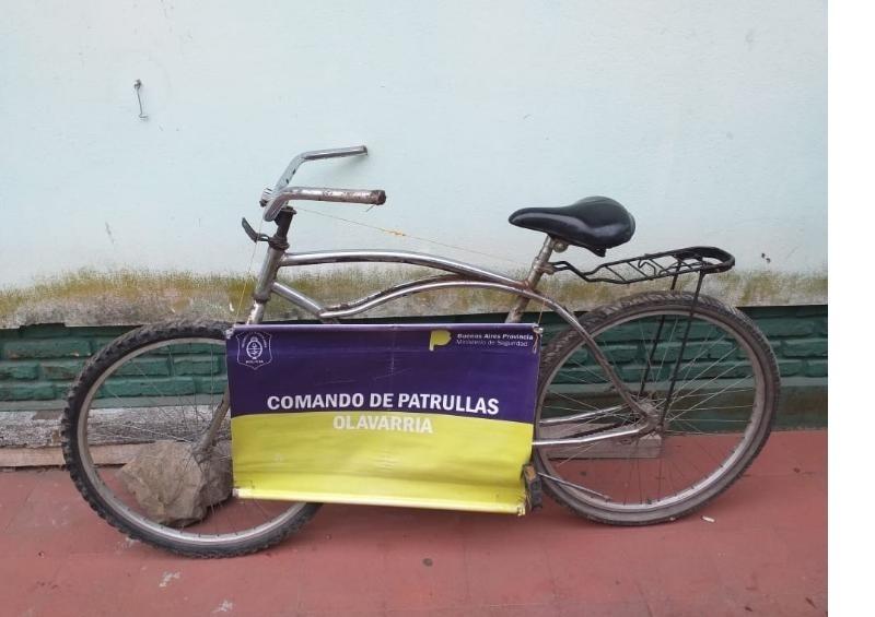 Hallazgo de una bicicleta