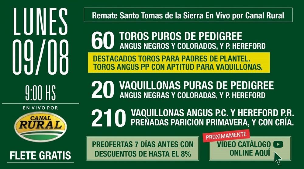 Se viene el gran remate en Cabaña Don Benjamín el próximo 9 de agosto