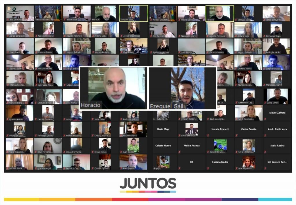 Séptima: Encuentro virtual del oficialismo de 'Juntos'