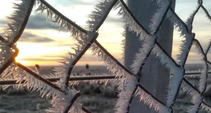 Olavarría transita el día más frío en lo que va del año