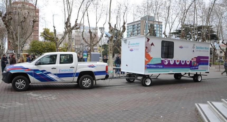 El Quirófano Veterinario Móvil llega a Villa Mailin