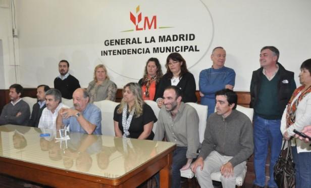 La Madrid: asumieron nuevos funcionarios