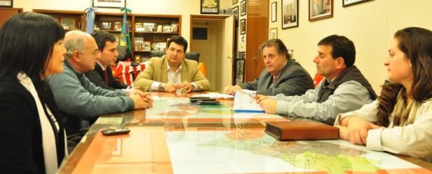 González hueso se reunió con Alejandro Collia