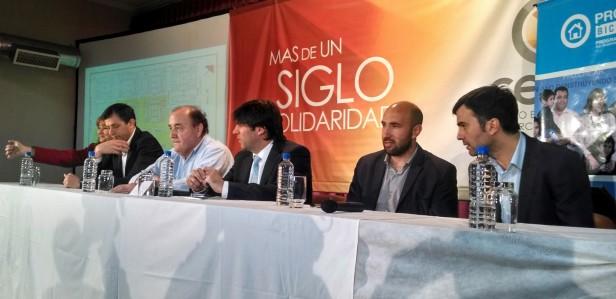 Bossio anunció la reapertura del Banco Hipotecario en Olavarría