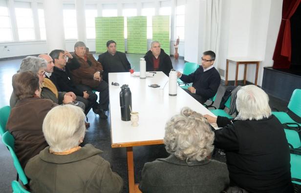 Delpiani se reunió con representantes de distintos credos