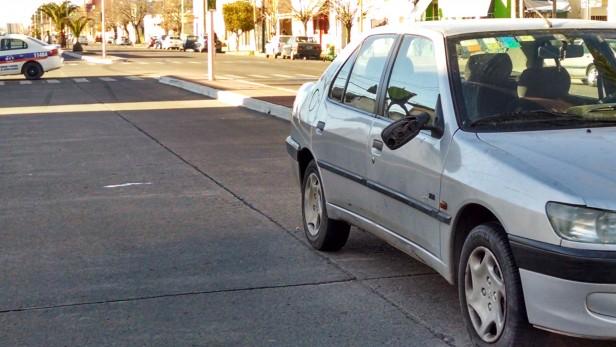 Una mujer fue atropellada en Avda. Colón