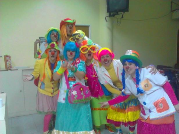 Los Payamédicos festejan el día del Niño