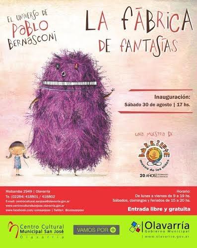 Propuestas para la Muestra 'Libros en Olavarría'