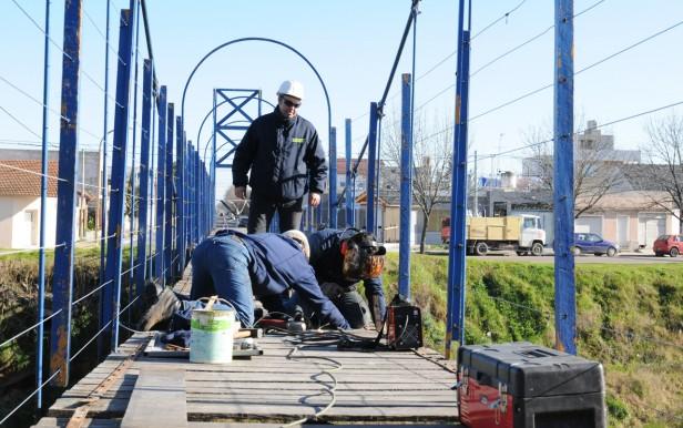 Mantenimiento y reparación de puentes en la ciudad de Olavarría