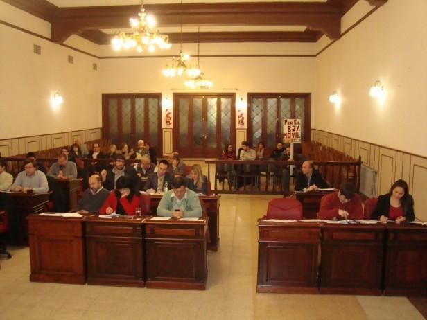Sesiona el Concejo Deliberante en Sierra Chica