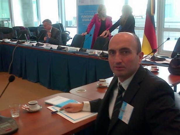 Eduardo Rodríguez participa de las Jornadas para Funcionarios Legislativos
