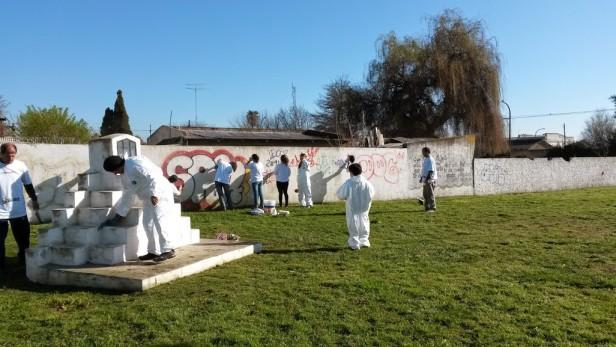 Más de 450 voluntarios se sumaron al Día de hacer el bien