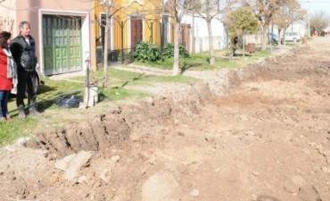 Pavimentación en barrios de Olavarría y localidades