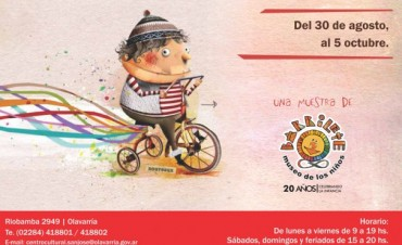 Pablo Bernasconi inaugurará la Muestra Libros en Olavarría