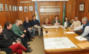 Frías se reunió con la responsable regional de Hidráulica de la Provincia