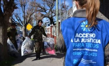 Entrega de donaciones del Ejército Argentino