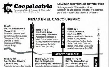 Elecciones en Coopelectric