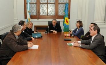 Eseverri recibió a la Presidenta de la Cámara de Diputados de San Luis