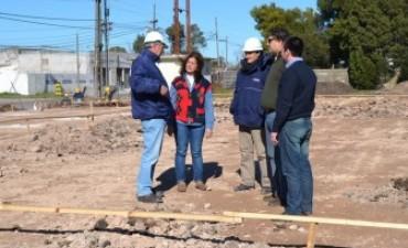 Inician la construcción del edificio para el Servicio Territorial Nº 2