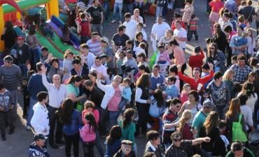 Unas 30 mil personas en la Fiesta del Día del Niño