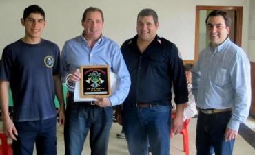 Héctor Vitale visitó las ciudades de 25 de Mayo y Roque Pérez