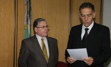 Sergio Volante integra el Consejo de la Magistratura de la provincia