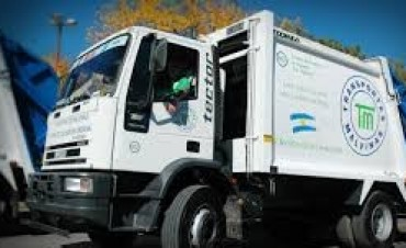 Cronograma de recolección de residuos por el paro