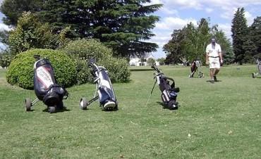 Golf:  Néstor Leiva y Javier Lobo ganadores de los 9 hoyos del miércoles