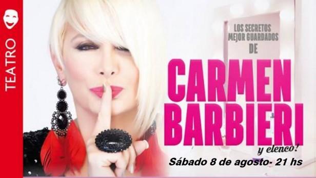 Carmen Barbieri en el Teatro Municipal