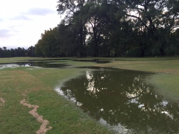 Sin golf por la lluvia en el