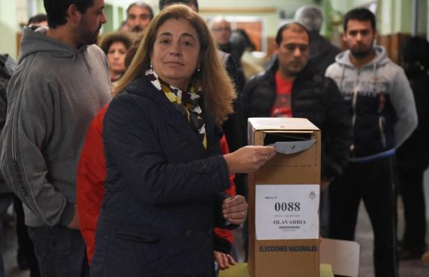 """Margarita Arregui: """"Hay un clima de armonía en el que la gente puede votar con normalidad"""""""