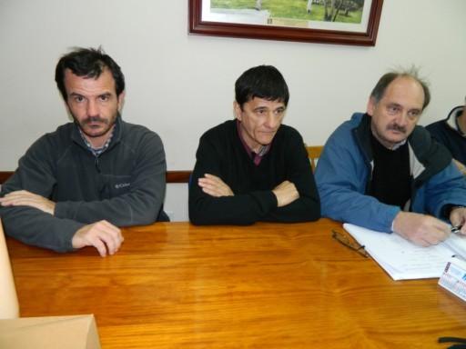 Roque Pérez: se trabaja a contra reloj en la contención del Salado